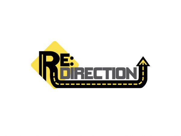 Re:direction logo white space